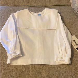 🎉 Monday's child top size 12 months